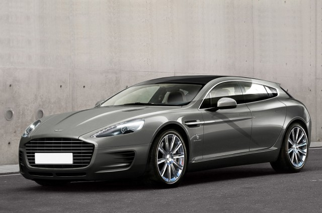Bertone Jet 2+2 shooting brake concept based on the 2014 Aston Martin Rapide