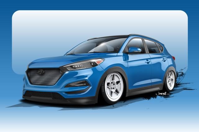 700 Horsepower Hyundai Tucson To Debut At Sema Show