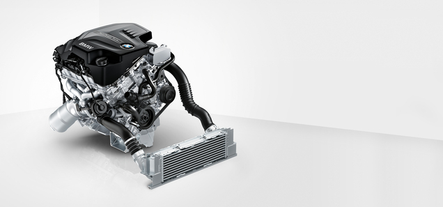BMW 2.0-liter TwinPower turbo four-cylinder engine