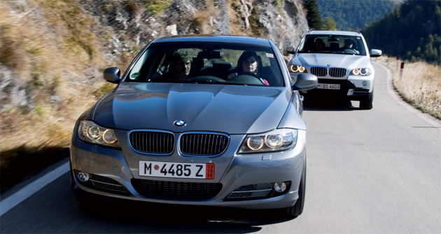 Sales of the 3-series and X5 models have helped maintain BMW's performance during one of the worst slumps in decades