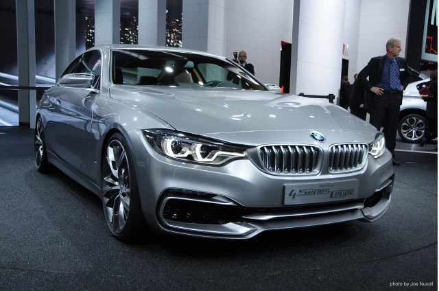 BMW 4-Series Coupe Concept at 2013 Detroit Auto Show