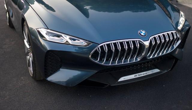 BMW 8-Series concept, 2017 Concorso d'Eleganza Villa d'Este