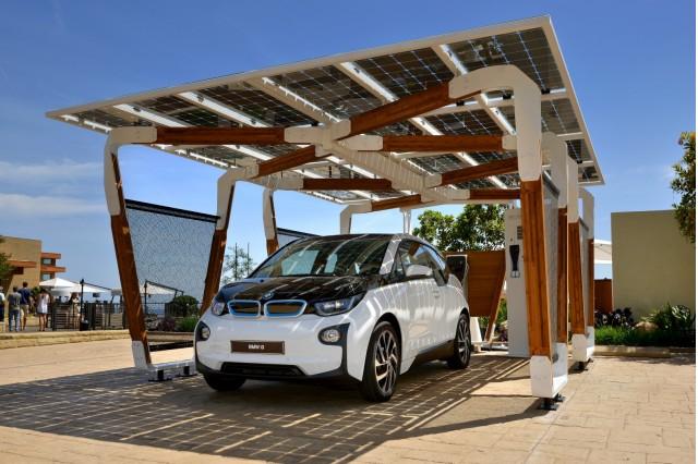 BMW DesignworksUSA solar carport
