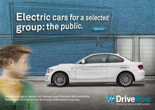 BMW DriveNow service launches in San Francisco