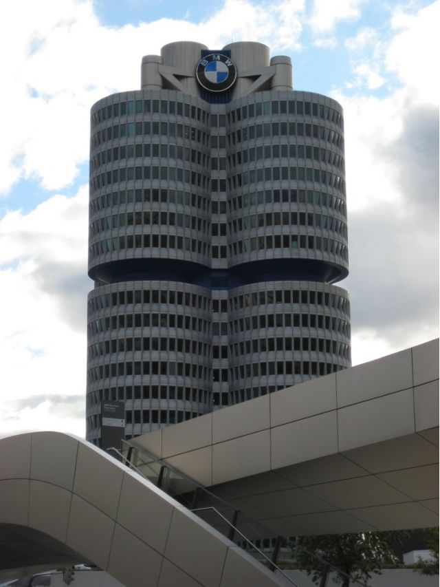 BMW headquarters in Germany