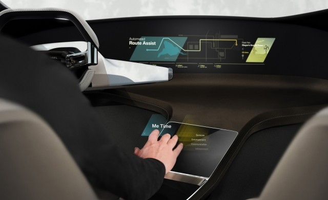 BMW Has A Trick New HoloActive Touch System In Store For CES