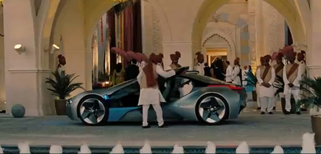 BMW i8 Concept in Mission Impossible 4