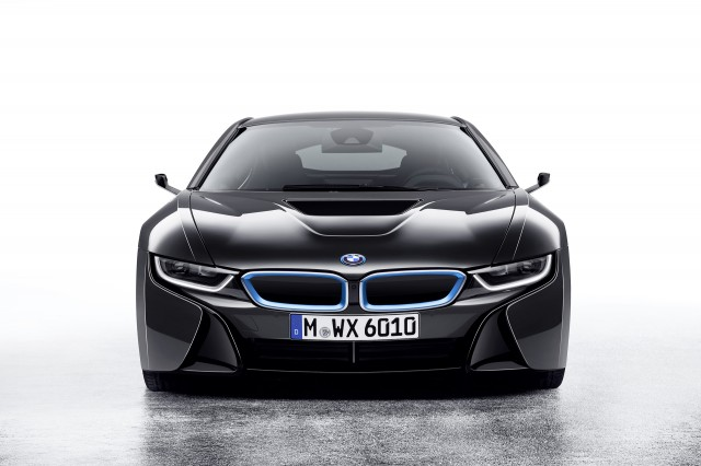 BMW i8 Mirrorless concept - 2016 Consumer Electronics Show