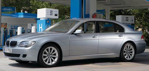 BMW introduces Hydrogen 7