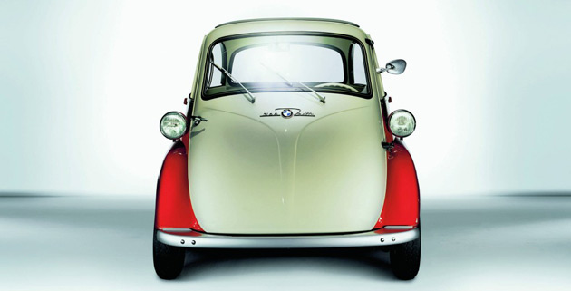 The Isetta was a popular BMW minicar built in the 1950s and '60s