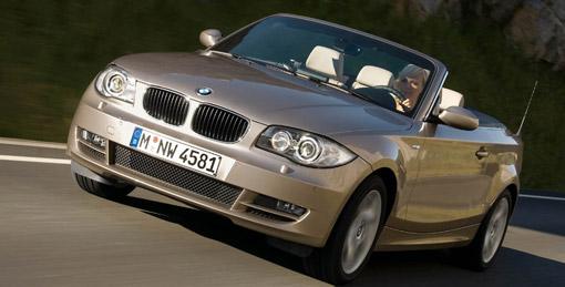BMW launches 1-series cabrio