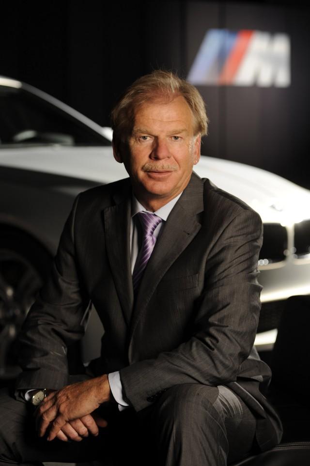 BMW M boss Friedrich Nitschke