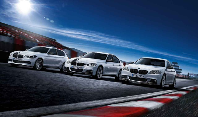 BMW M Performance Parts for the 1-, 3-, and 5-Series