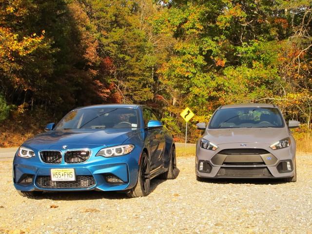 BMW M2 vs. Focus RS