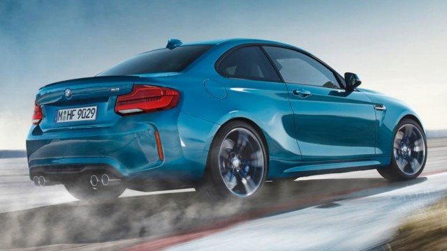 2018 BMW M2 refresh leaked
