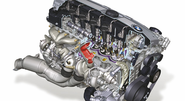 The N55 is the world's first engine to combine turbocharging, direct fuel injection and Valvetronic technology