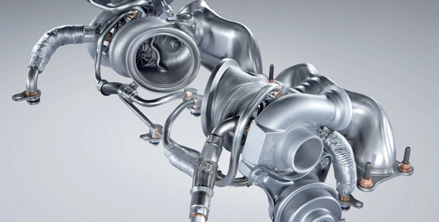 BMW N54 turbocharger
