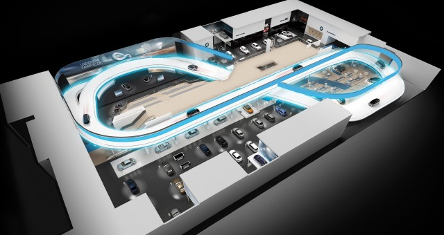 BMW Track at Frankfurt Auto Show