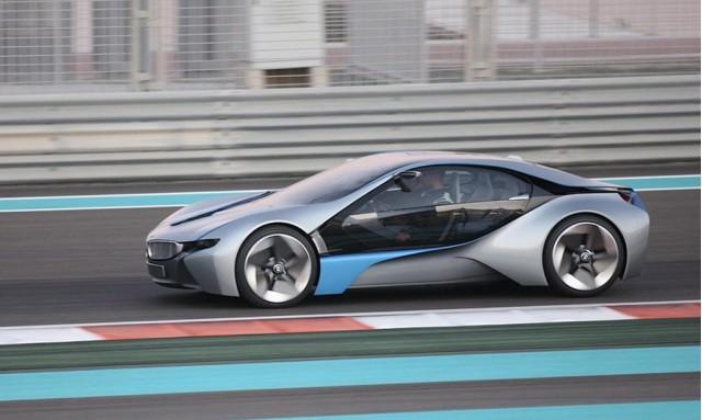 BMW Vision EfficientDynamics (a.k.a. i8)