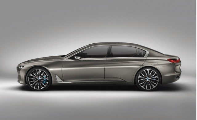 BMW Vision Future Luxury concept, 2014 Beijing Auto Show