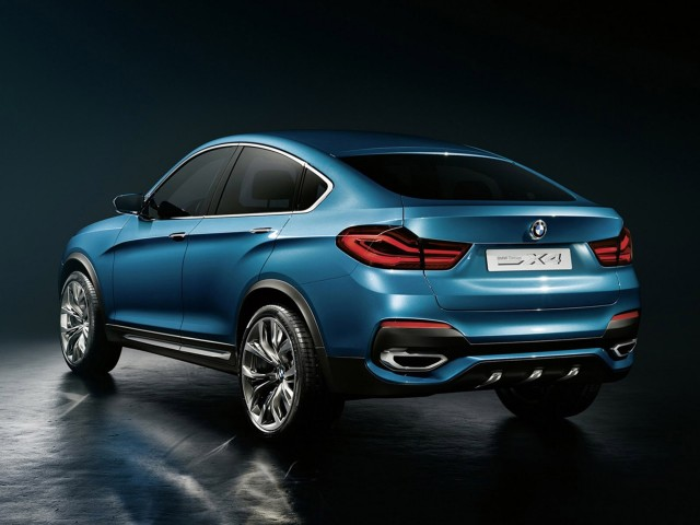BMW X4 concept leaked