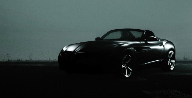 BMW Zagato Concept, debuting at the 2012 Pebble Beach Concours d'Elegance