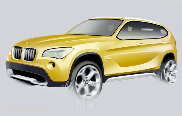 2010 BMW X1 Concept (2008 Paris Auto Show)