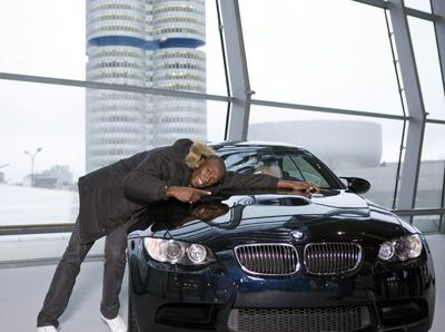 "Usain Bolt and BMW M3: ""Love at First Sight"""