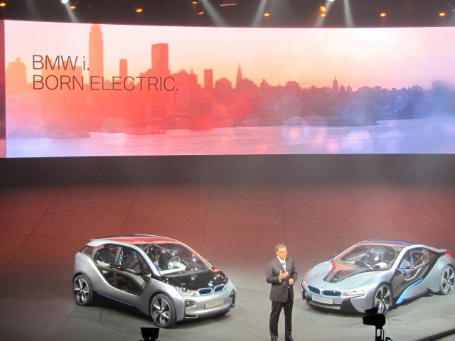 BMW i Launch Event, Frankfurt, July 2011