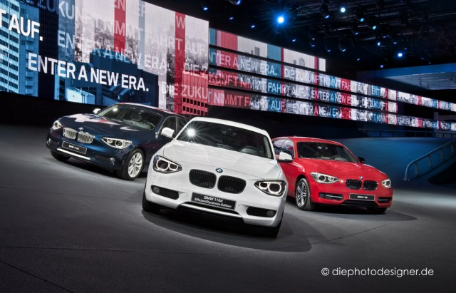 BMW stand at the 2011 Frankfurt Auto Show