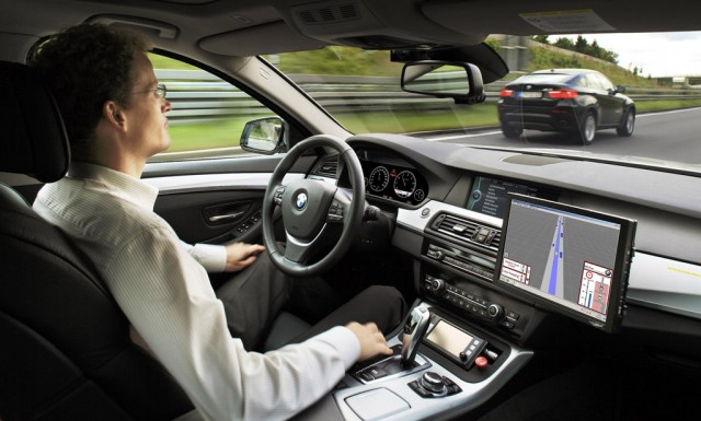 BMW Highly Automated Driving prototype