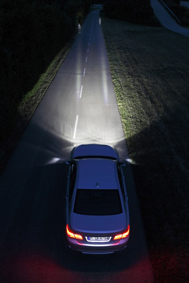 BMW laser headlights