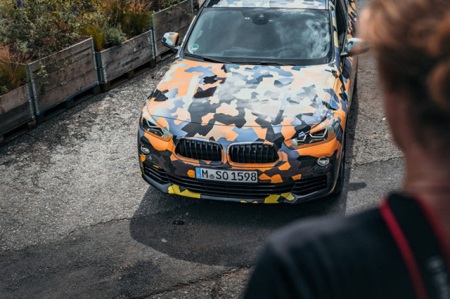 Dynamic And Sporty: BMW X2 Official Images Revealed