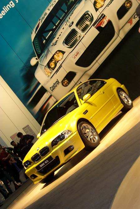 BMW m3, 2000 New York Auto Show