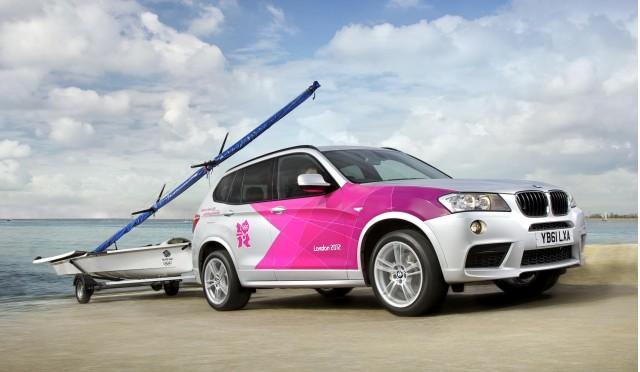 BMW's London 2012 Olympic Games fleet