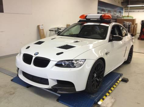 BMW's M3 safety car for the 2012 DTM Series