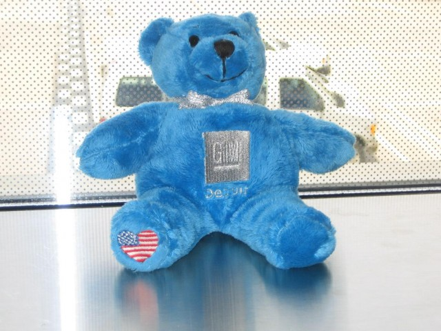 Bob the GM Collection bear, named after former GM product czar Bob Lutz