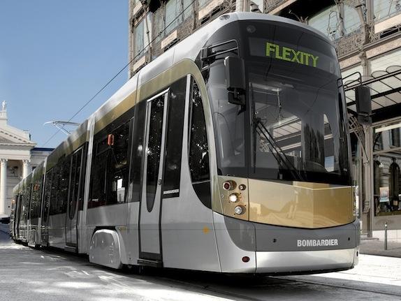 Bombardier Flexity streetcar
