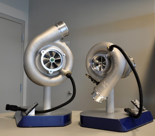 Borg Warner turbochargers used in the IZOD IndyCar Series - Anne Proffit photo