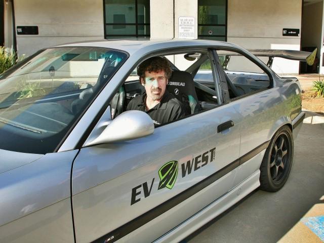 Boris Said in the EV West M3