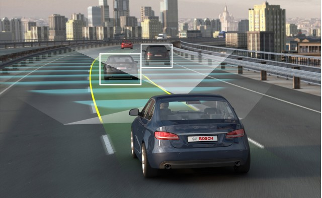 Bosch autonomous car technology