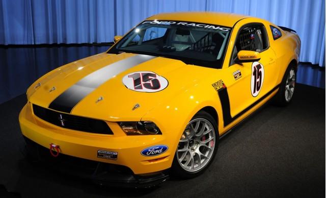 Boss 302R Mustang