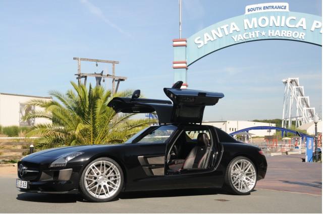Brabus tuned 2011 Mercedes-Benz SLS AMG