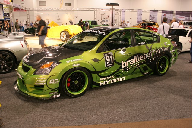Braille Battery Nissan Altima Hybrid race car