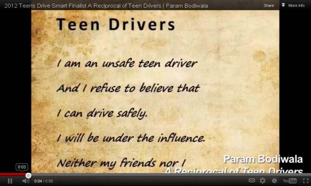 Bridgestone Teens Drive Smart - A Reciprocal of Teen Drivers