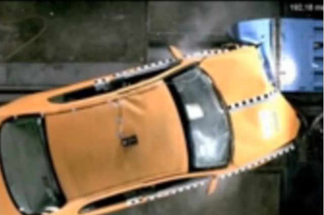 Brilliance BS6 crash test, after modifications, 2007