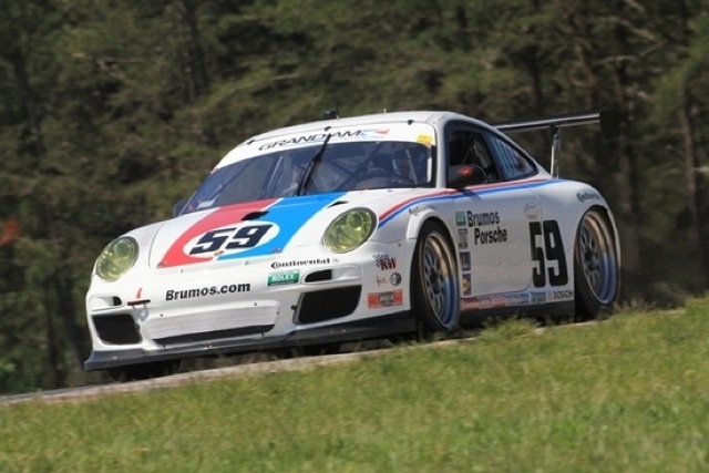 Brumos' 911 GT3 Cup Grand-Am car