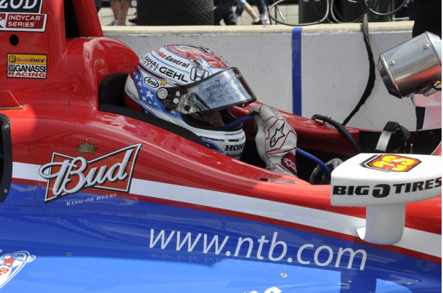 Budweiser signage on Graham Rahal's Indy car - Anne Proffit photo