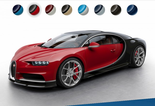 see the bugatti chiron in more colors thanks to configurator. Black Bedroom Furniture Sets. Home Design Ideas