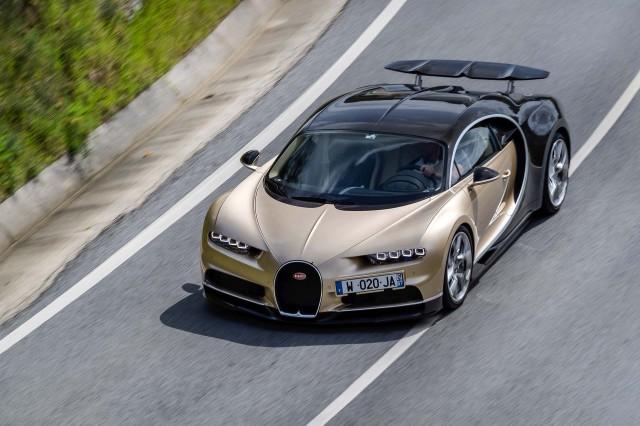 Bugatti Chiron first drive